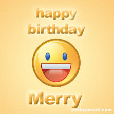happy birthday merry free e cards