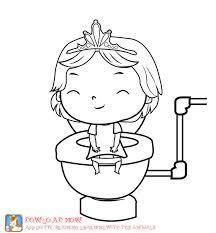 22 potty training coloring pages images potty