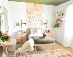buttoned up boho bedroom makeover vintage revivals