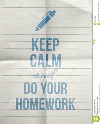 quote document icon keep calm do your homework design quote with with pen icon stock