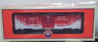 box car lionel o 6 84375 2017 christmas boxcar ebay