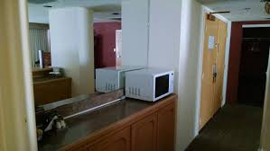 hton bay cabinets catalog microwave and refrig picture of doubletree beach resort by hilton