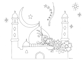 mosque 5 buildings and architecture u2013 printable coloring pages