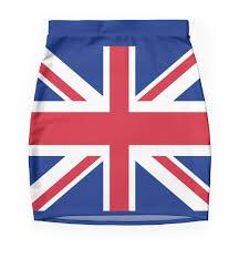Great Britain Flag Union Jack 1960s Mini Skirt Best Of British Flag