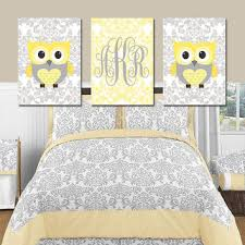Yellow Gray Nursery Decor Shop Baby Bedroom Sets On Wanelo