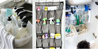 how to organize your cleaners home cleaning product organization