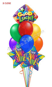 luck balloon delivery luck awesome balloon bouquet 9 balloons balloon delivery by