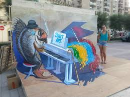 3d street painting for dummies or how to do 3d anamorphic painting sliema street art festival