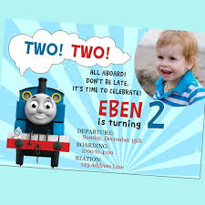 thomas train birthday invitations thomas train birthday