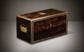 Vanity Box Daniel Lucian Coromandel Antique Vanity Box By Jenner U0026 Knewstub