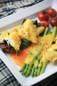 cuisine hollandaise gf eggs benedict w ghee hollandaise my pcos kitchen