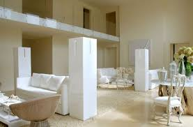 white home interior contemporary white interior with classic furniture by bnodesign