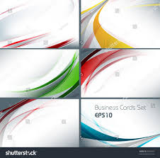royalty free set of templates for business cards u2026 59283037 stock