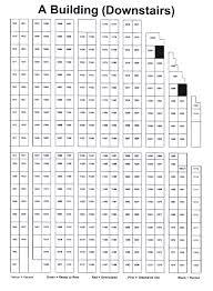 Floor Plan Of A Building Floor Plan Of Stephanie Mini Self Storage Stephanie Storage