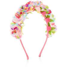 monsoon hair accessories monsoon rainbow flower aliceband 18 aud liked on polyvore