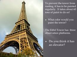 when you think of paris you may think of the eiffel tower it was