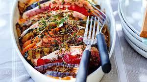 cuisiner legumes recette tian de rouget aux légumes grillés recettes comment