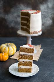 cinnamon maple pumpkin cake the little epicurean