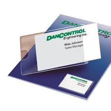 card pockets greenside self adhesive business card pocket 10 card