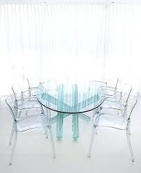 dining chairs contempo clear dining chair clear transparent