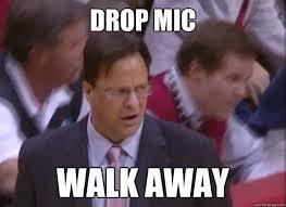 Drop Mic Meme - drop mic walk away crean face quickmeme