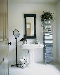 Black And White Bathroom Decorating Ideas Black And White Rooms Martha Stewart