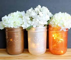 diy mason jar centerpieces diyideacenter com