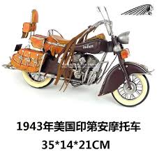 motor style retro 1943 united states indian motorcycle model
