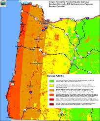 Oregon Vortex Map by The Challenges Of Seismic Mitigation In Oregon Where Science And