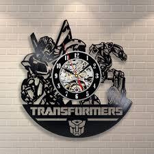 transformers vinyl record clock want these haluuuun pinterest