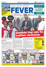 east griqualand fever 23 09 16 by kzn local news issuu