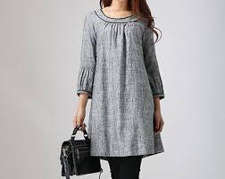 gray dress etsy
