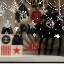 Christmas Decorations Wholesale Europe by Best 25 Christmas Window Stickers Ideas On Pinterest Window