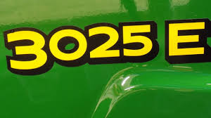 new john deere 3025e youtube