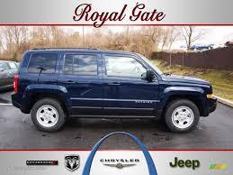 maroon jeep patriot 2012 true blue pearl jeep patriot sport 62098417 photo 2