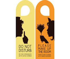 hotel door hanger template we provide customised door hangers printing in dubai