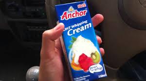 cara membuat whipped cream dengan blender anchor whipping cream youtube