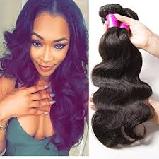 12 inch weave length hairstyle pictures amazon com ali julia hair brazilian virgin body wave hair weave