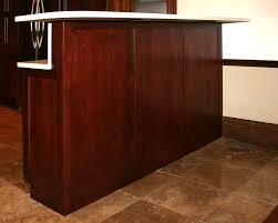 base cabinet bar st louis kitchen cabinets bar height raised