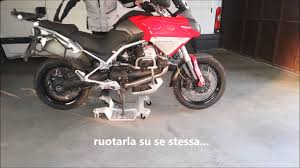 pedana sposta moto pedana sposta accosta parcheggia moto