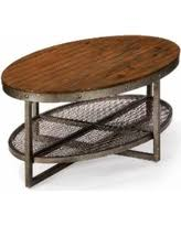 ink ivy blaze brown triangle wood side table memorial day deal alert ink and ivy coffee tables