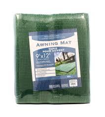 Rv Awning Mats 8 X 20 by Amazon Com Camco 42820 Awning Leisure Mat 9 U0027 X 12 U0027 Green