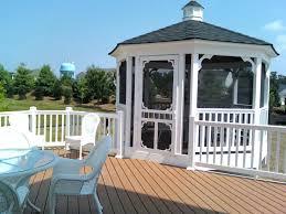 gazebo porch lights deck canopy screened gazebo porch house plans