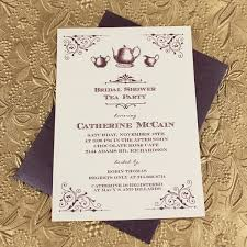 bridal tea party invitation vintage bridal shower tea party invitation template print