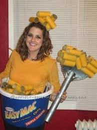 12 Year Old Halloween Costume Ideas A Delicious Looking Easymac Costume Can Be Made From Spray Painted