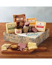 cheese gift sale happy birthday meat and cheese gift box gift