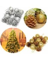 find the best deals on 12pcs tree balls decorations