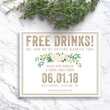 save the dates cheap free drinks save the date save the dates rustic save