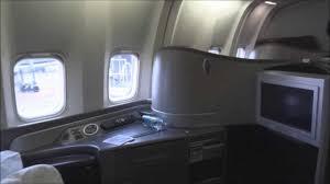 united airlines newark zurich b767 300er economy class youtube