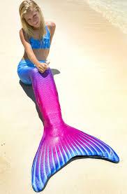 blue purple mermaid tail maui splash limited edition fin fun